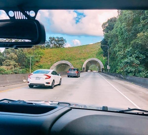 Oahu H3 tunnels, thewoksoflife.com