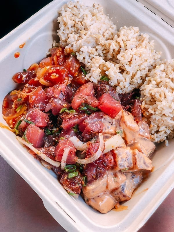 Ahi Assassins Poke, thewoksoflife.com