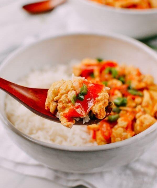 Chinese Tomato Egg, thewoksoflife.com