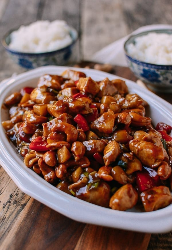 Chicken with Cashew Nuts, thewoksoflife.com