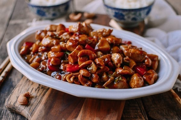 Cashew chicken, thewoksoflife.com