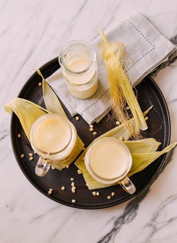 Chinese Corn Smoothie, thewoksoflife.com