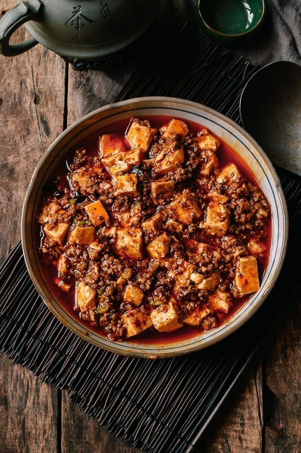 Dish of Mapo Tofu, thewoksoflife.com