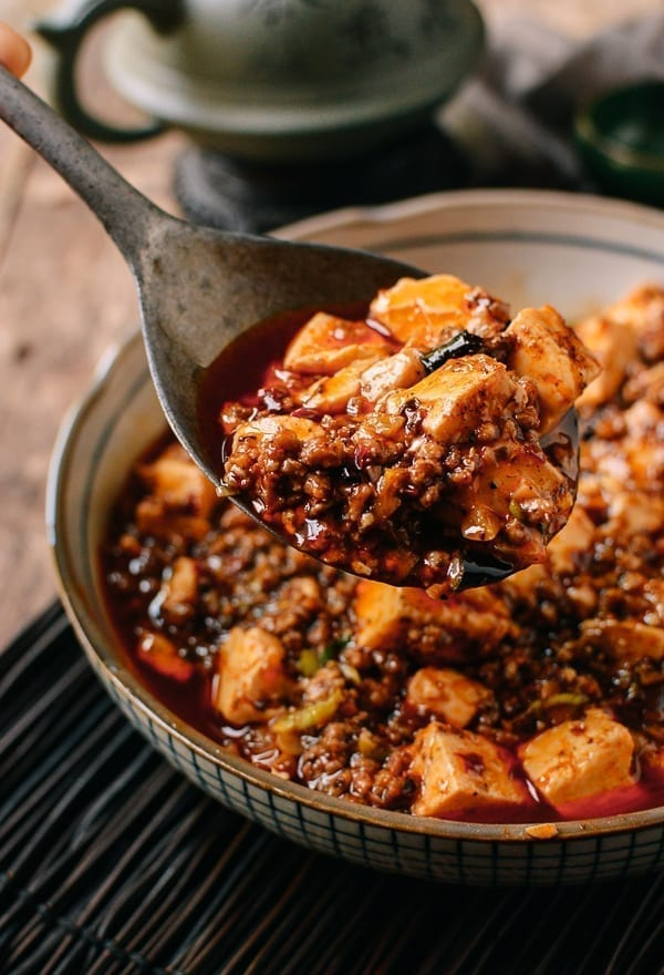 Spoonful of mapo tofu, theowksoflife.com