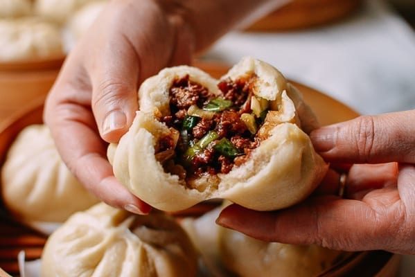 Pork Baozi Filling, thewoksoflife.com
