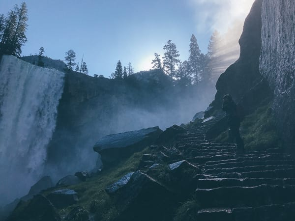 Vernal Falls on the Mist Trail, thewoksoflife.com