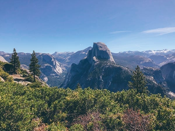 Glacier Point View of Half Dome, thewoksoflife.com