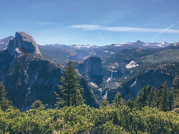 Glacier Point View, thewoksoflife.com