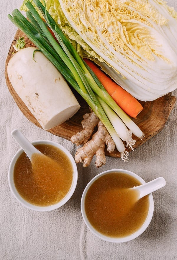 Asian vegetable stock, thewoksoflife.com