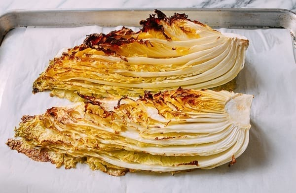Roasted napa cabbage, thewoksoflife.com