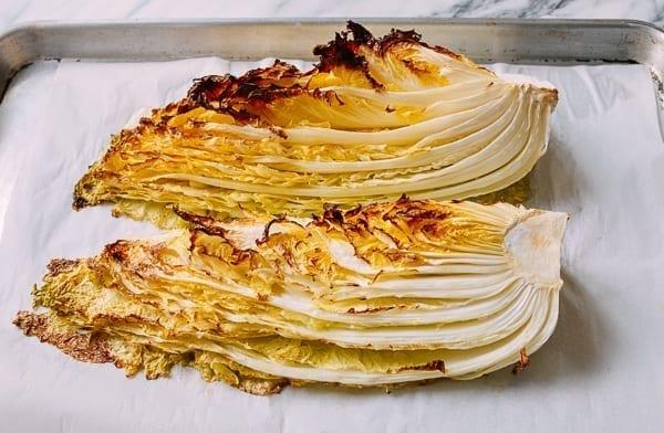 Roasted napa cabbage, thewoksoflife.com