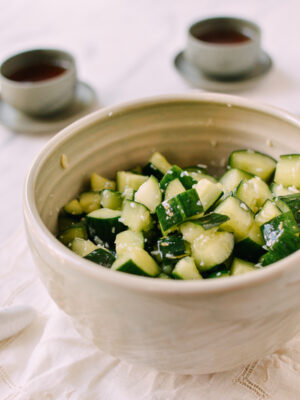 Chinese Cucumber Salad, thewoksoflife.com