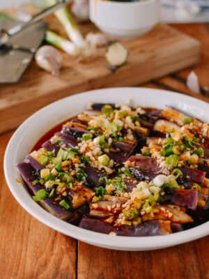 Chinese Steamed Eggplant, thewoksoflife.com