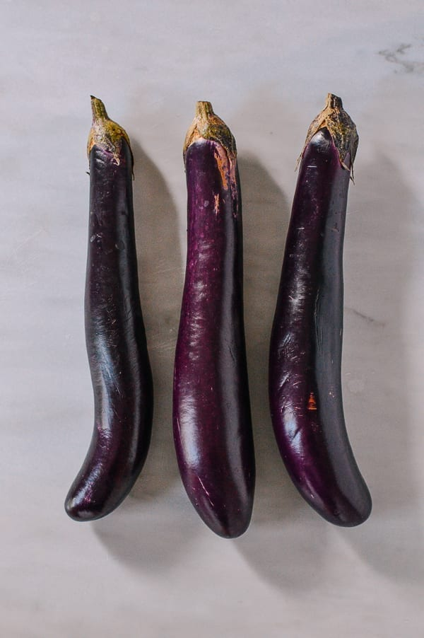 Long Chinese Eggplants, thewoksoflife.com