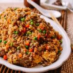 Fried Brown Rice, thewoksoflife.com