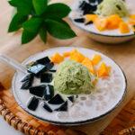 Grass Jelly Dessert, thewoksoflife.com