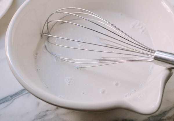 Coconut milk mixture, thewoksoflife.com