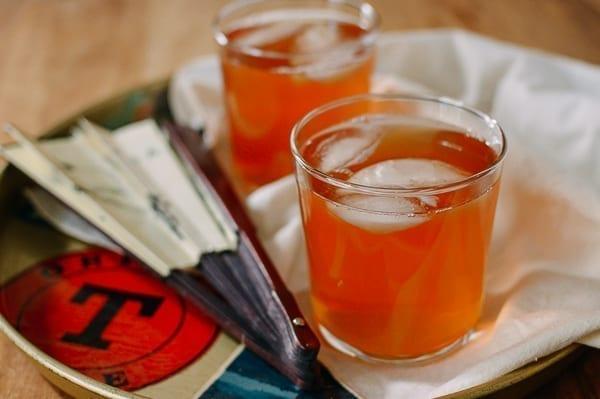 Hawthorn Berry Tea, thewoksoflife.com