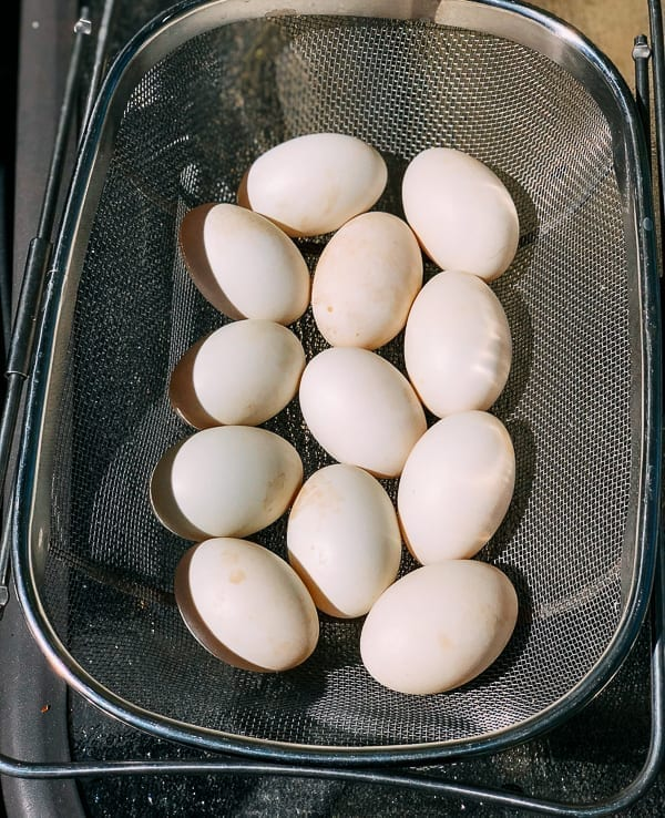 Duck eggs, thewoksoflife.com
