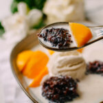 Mango Black Sticky Rice Dessert, thewoksoflife.com