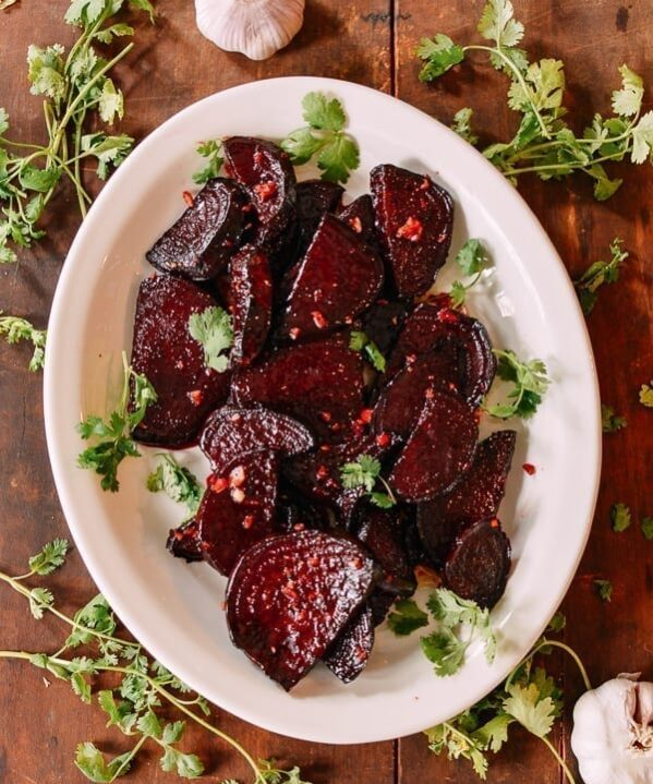 Roasted Beets, thewoksoflife.com