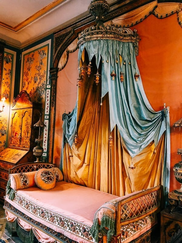 Vizcaya Museum Bedroom, thewoksoflife.com