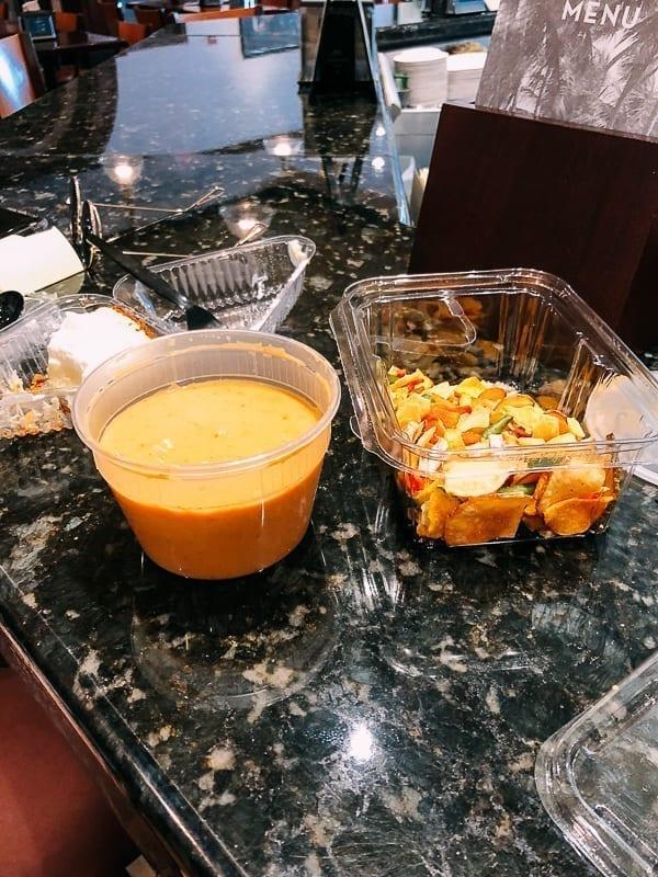 Key Lime Pie, Crab Bisque from Joe's Stone Crab cafe, thewoksoflife.com