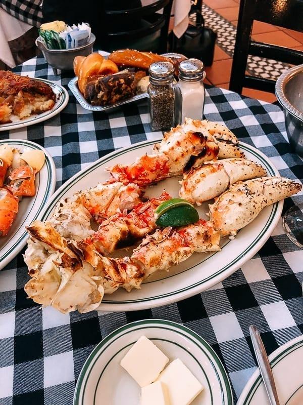 King Crab Claws at Joe's Stone Crab