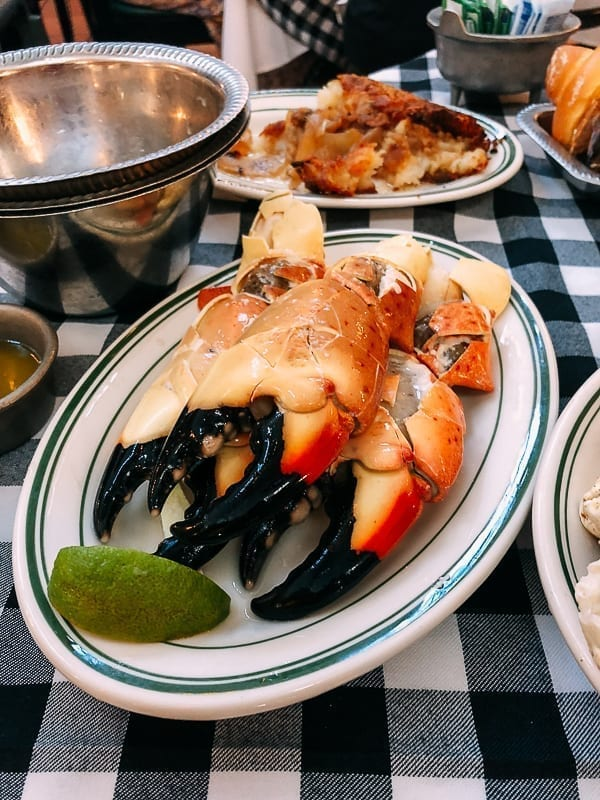 Jumbo Crab Claws at Joe's Stone Crab