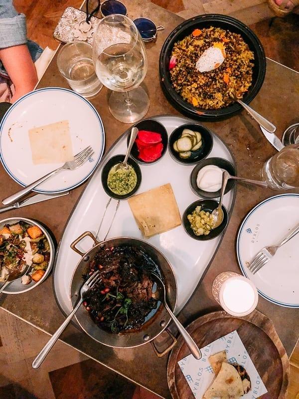 Dinner at Byblos Miami, thewoksoflife.com
