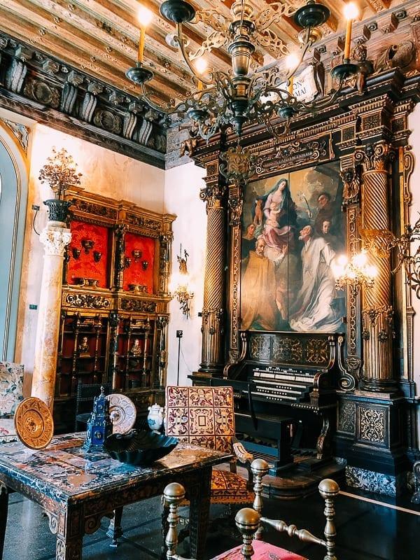 Vizcaya Museum interior, thewoksoflife.com