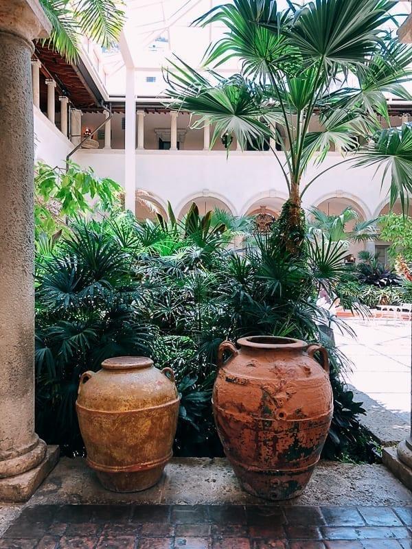 Vizcaya Garden Miami, thewoksoflife.com