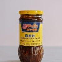 Jar of ground bean sauce, thewoksoflife.com