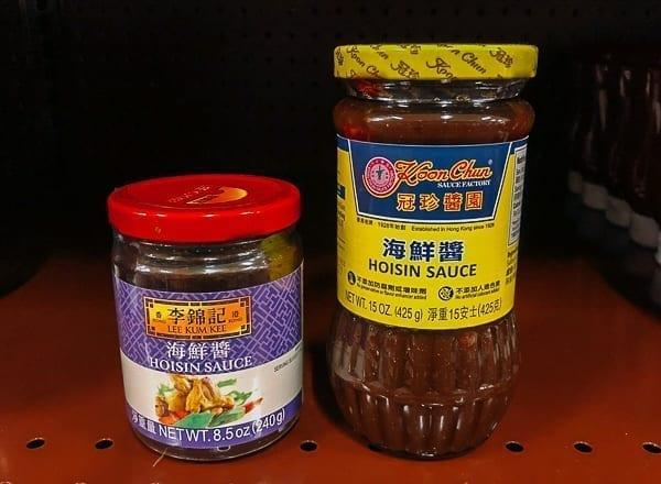 Hoisin sauce on store shelf, thewoksoflife.com