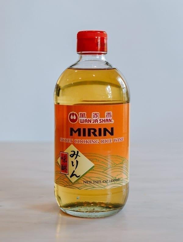 Bottle of mirin, thewoksoflife.com