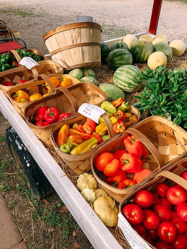 Farm stand produce, thewoksoflife.com