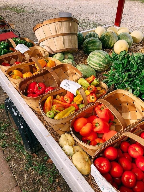 Farm stand produce, thewoksoflife.com