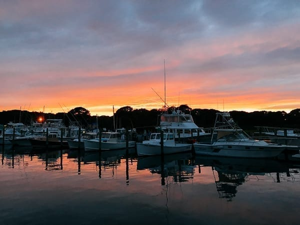 Montauk Harbor, thewoksoflife.com
