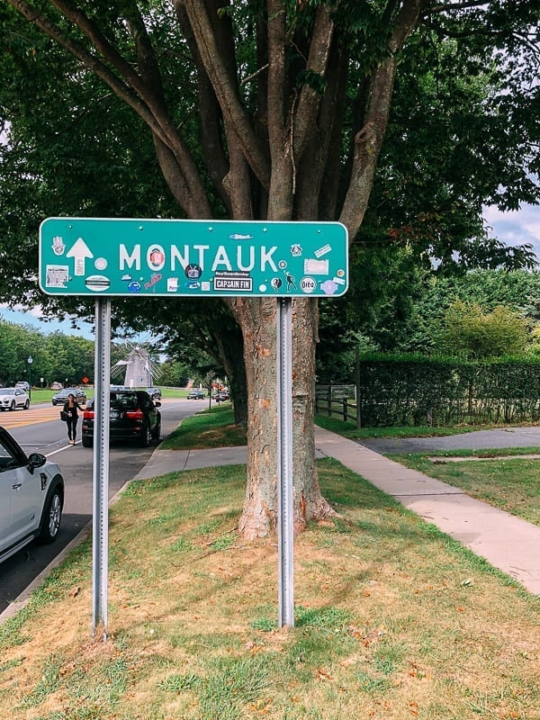Montauk road sign, thewoksoflife.com