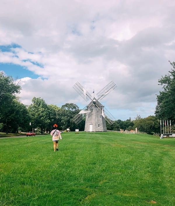 Windmill in East Hampton, thewoksoflife.com
