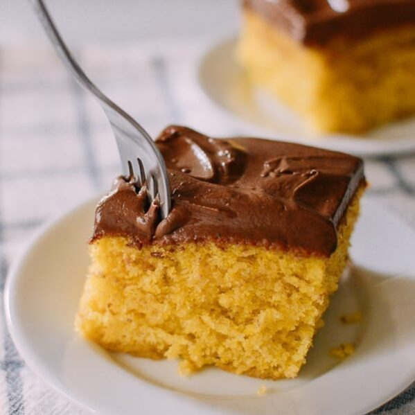 Perfect Yellow Cake, thewoksoflife.com