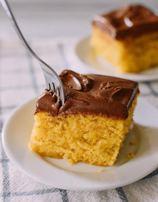 Perfect Yellow Cake, thewoksoflife.com