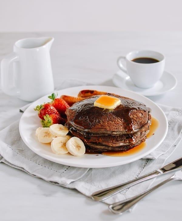 Buckwheat pancakes, thewoksoflife.com