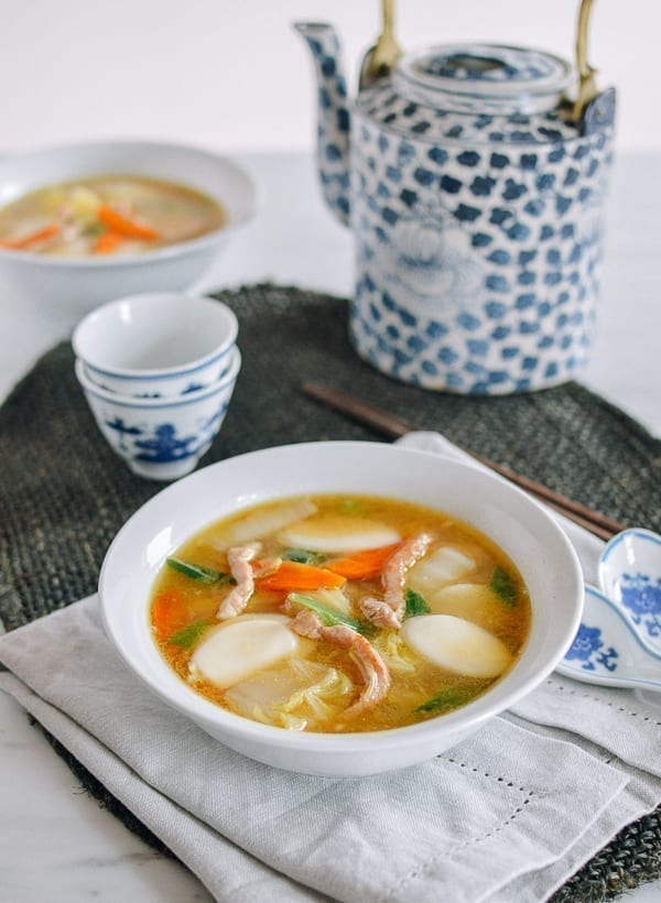 Chinese Rice Cake Soup, thewoksoflife.com