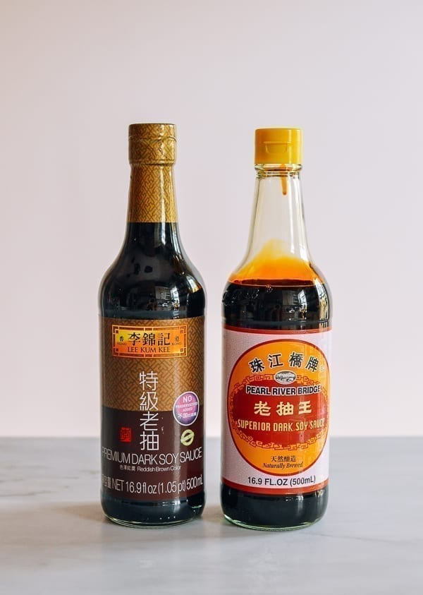 Dark Soy Sauce brands, thewoksoflife.com