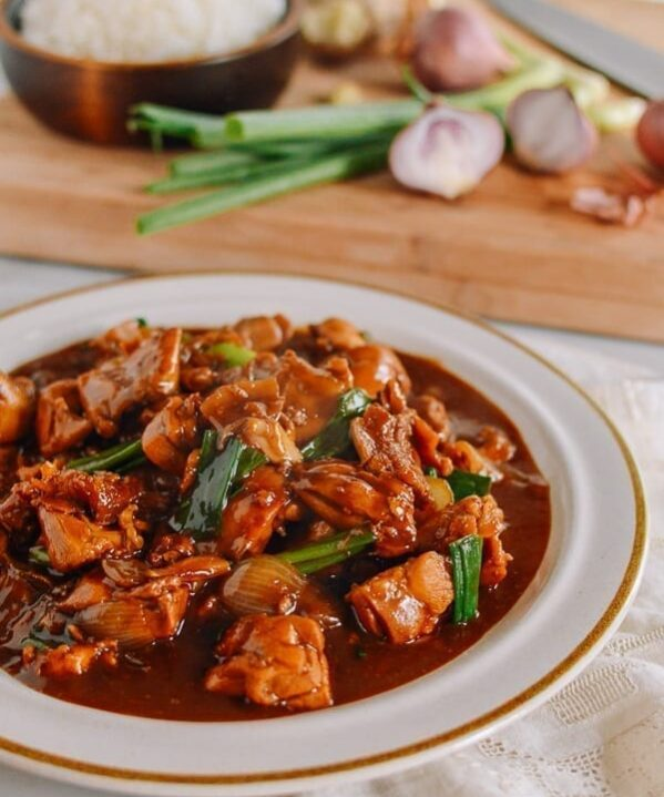 Chinese Ginger Chicken, thewoksoflife.com