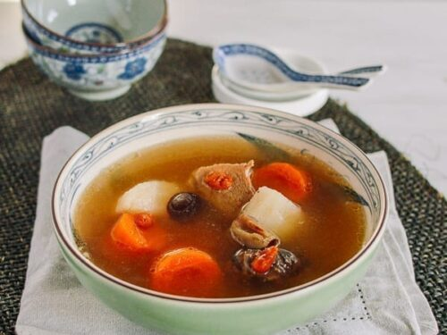 Cantonese Pork Soup With Carrots Chinese Yam The Woks Of Life