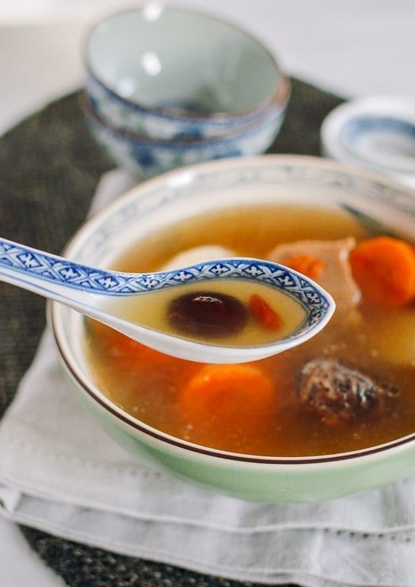 Cantonese Pork Soup with Dates & Goji Berries, thewoksoflife.com