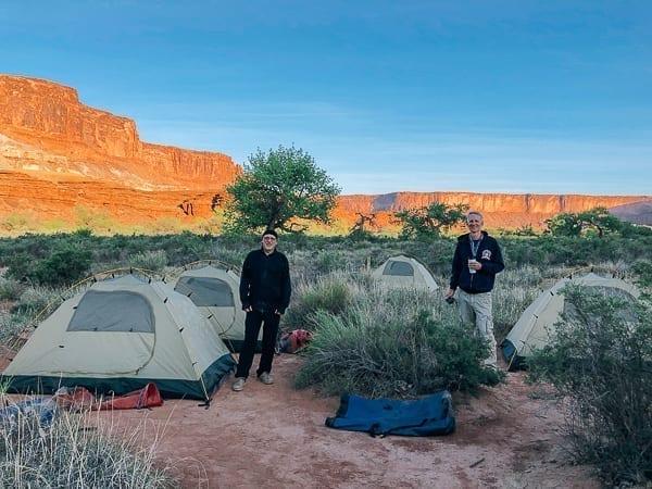 Canyonlands Potato Bottom campground by thewoksoflife.com