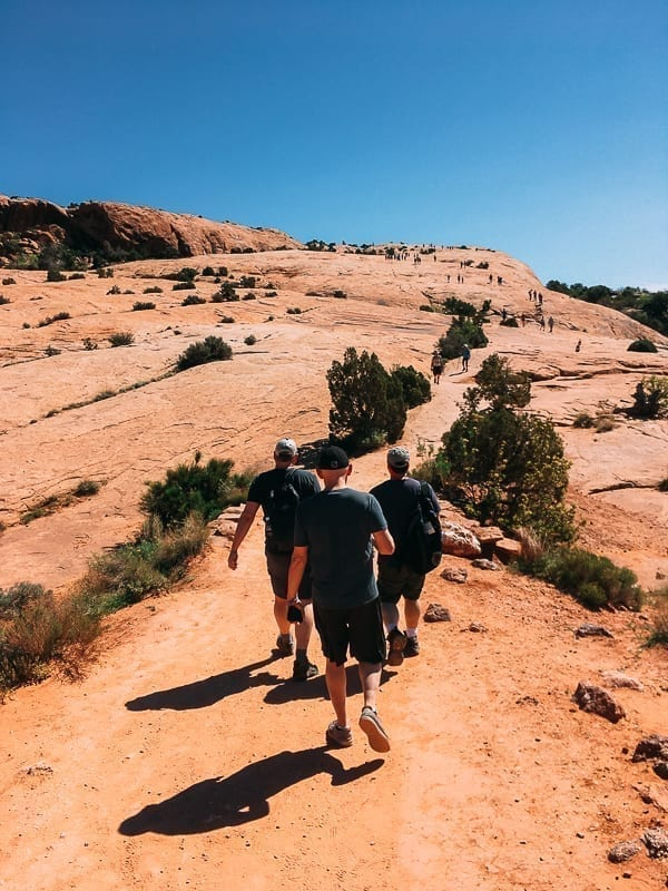 Arches National Park - Delicate Arch trail by thewoksoflife.com